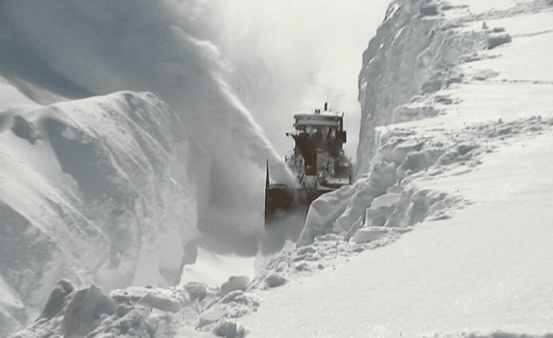 digging out of very deep snow