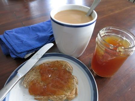Tea Jelly & Toast & Tea